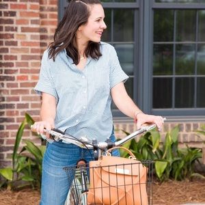Madewell Courier Shirt in Play Stripe
